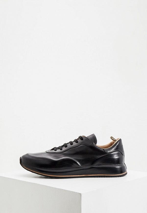 мужские кроссовки officine creative, черные