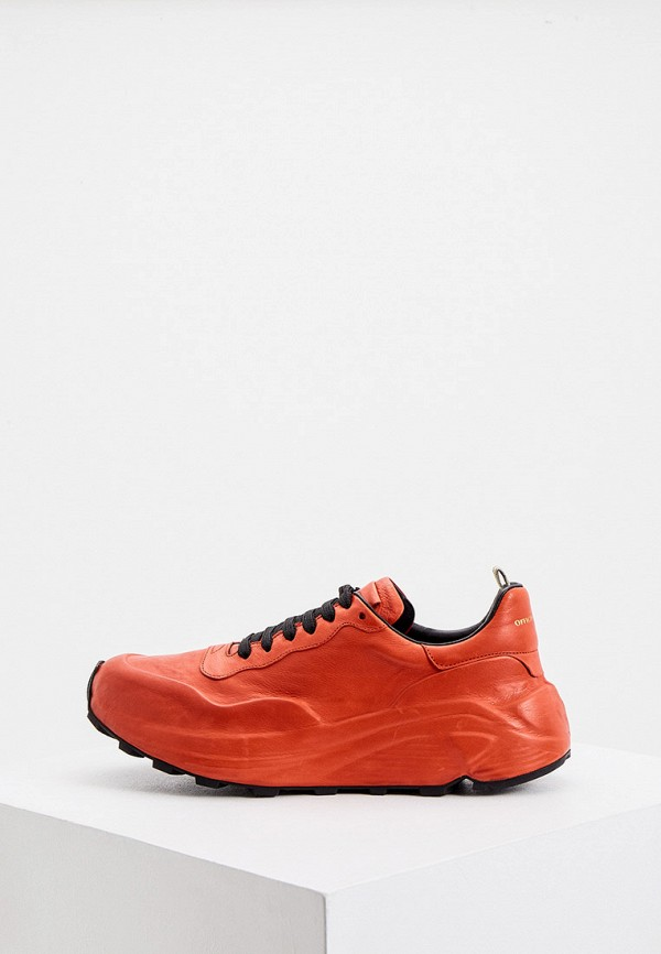 женские кроссовки officine creative, красные
