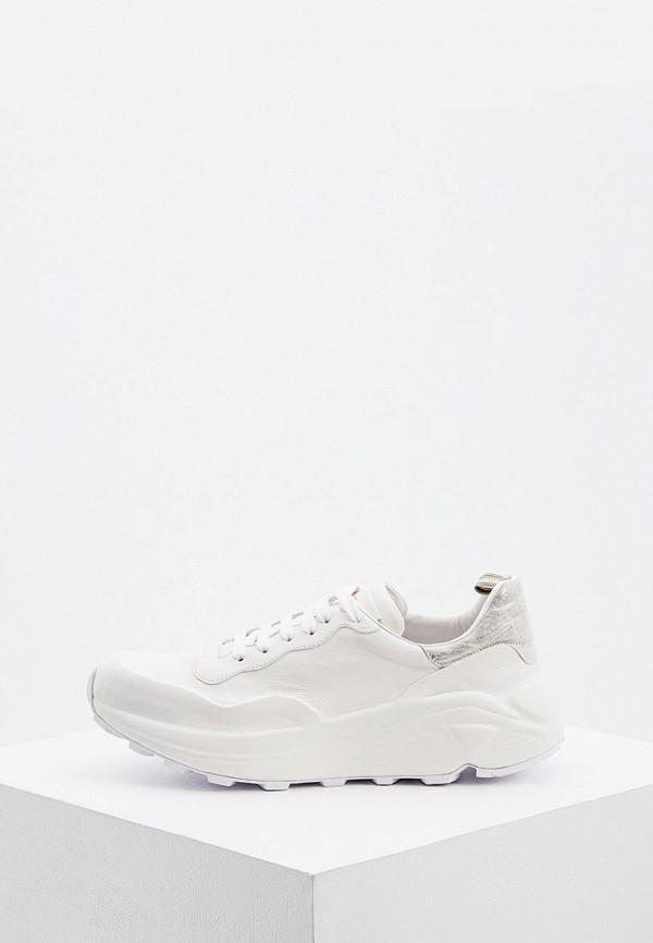 женские кроссовки officine creative, белые