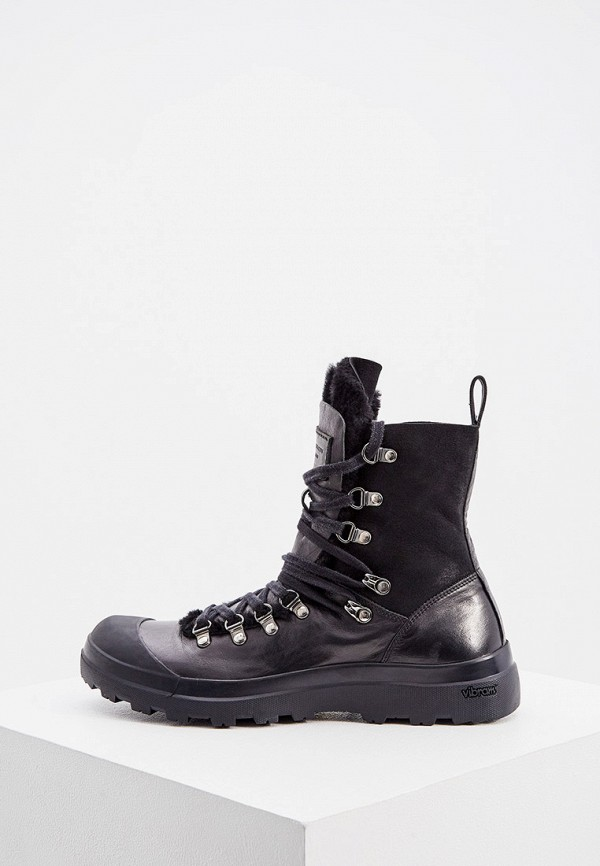 женские ботинки officine creative, черные