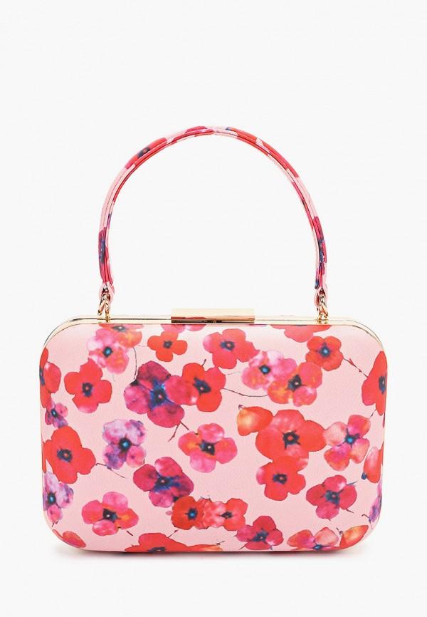 женская сумка olga berg, розовая