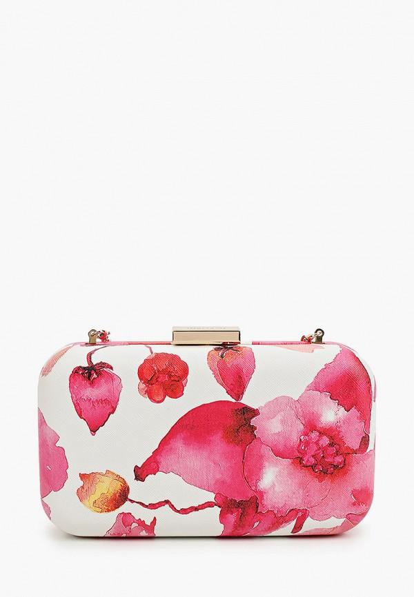 женский клатч olga berg, розовый