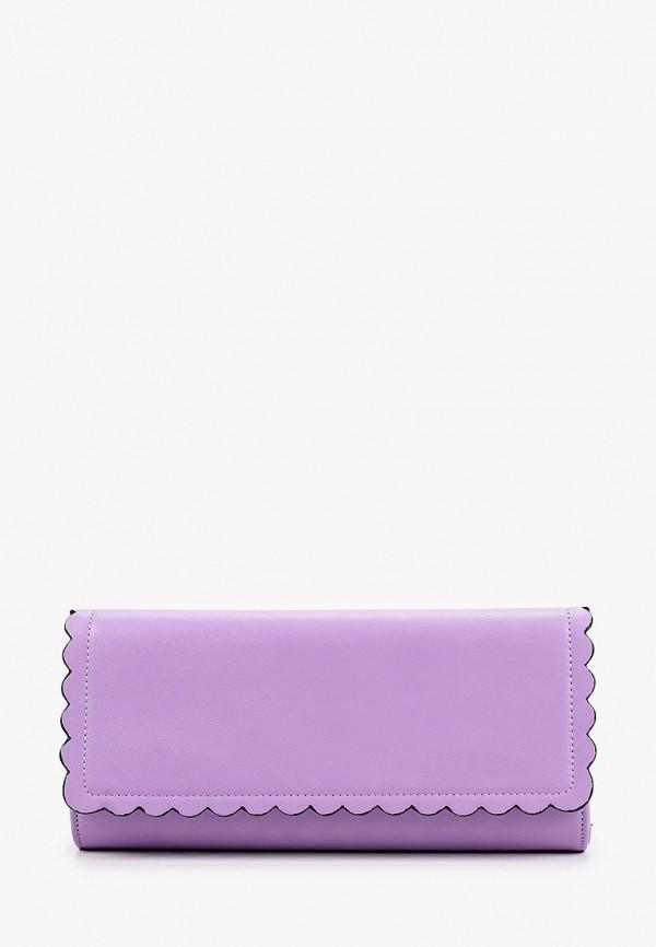 женский клатч olga berg, фиолетовый