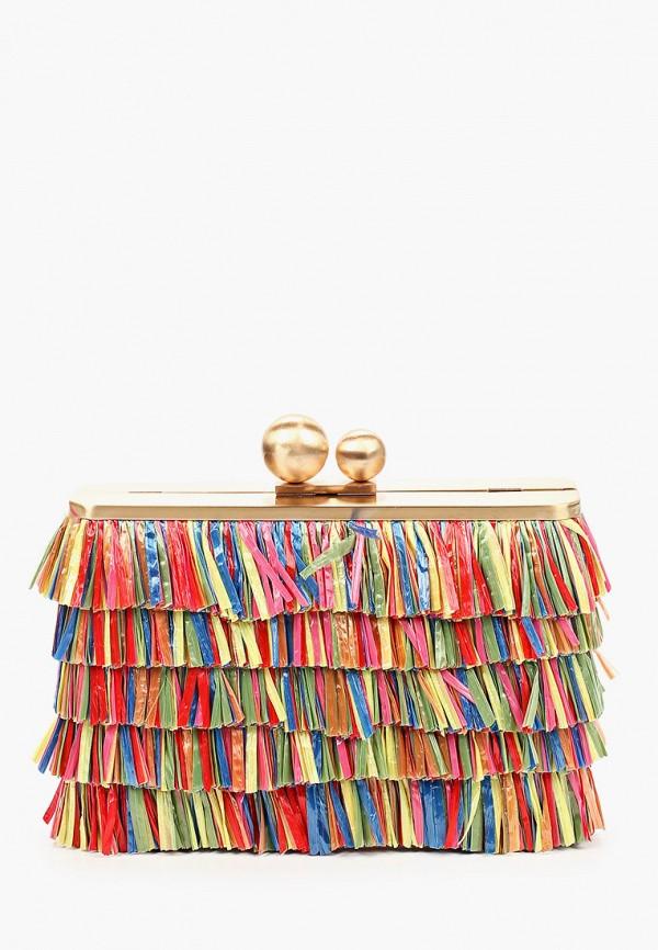 женский клатч olga berg, разноцветный