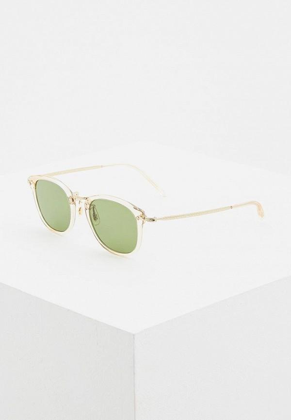 мужские солнцезащитные очки oliver peoples, бежевые