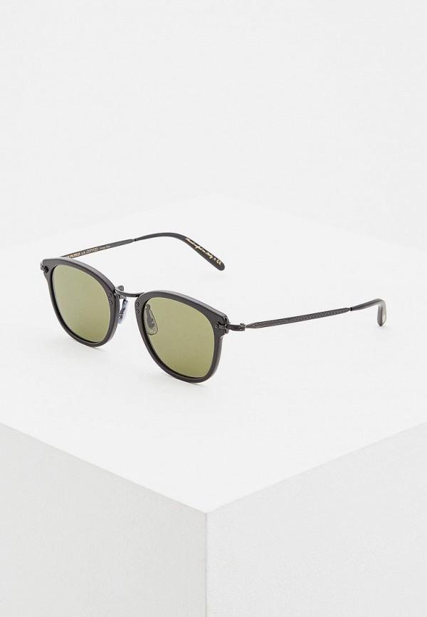мужские солнцезащитные очки oliver peoples, черные