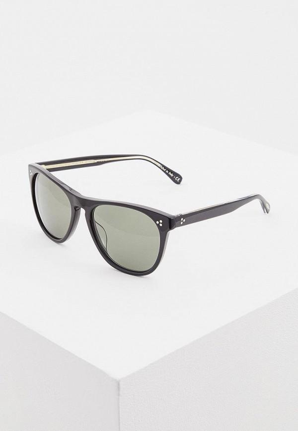 мужские солнцезащитные очки oliver peoples, коричневые
