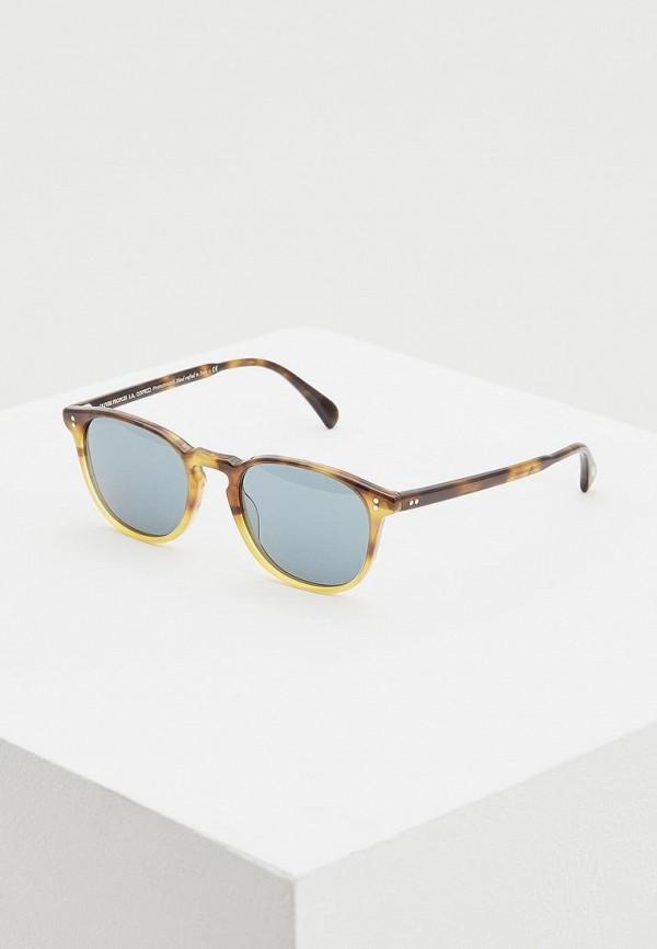 женские солнцезащитные очки oliver peoples, коричневые