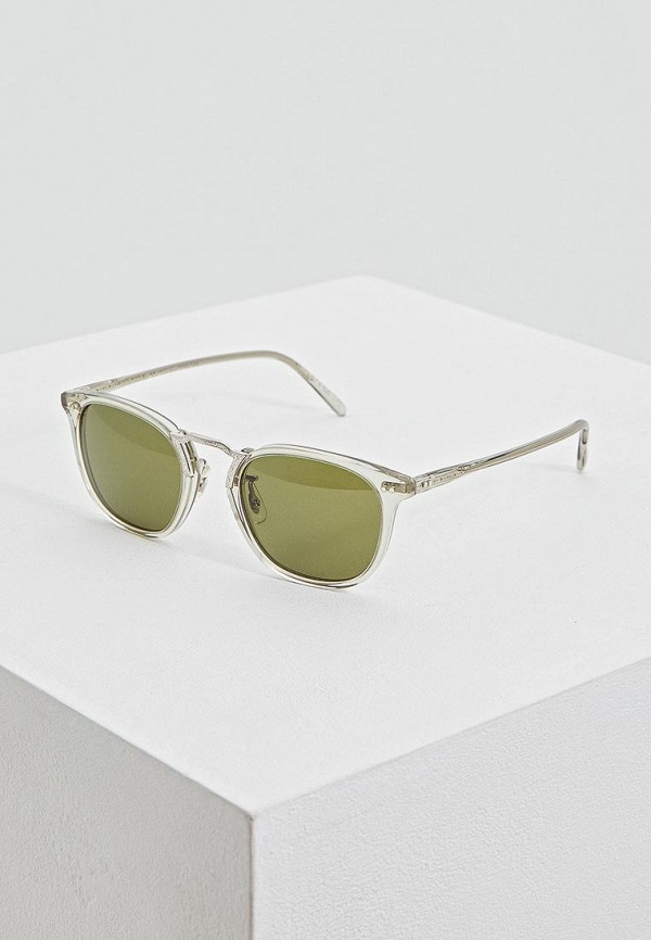 женские солнцезащитные очки oliver peoples, белые