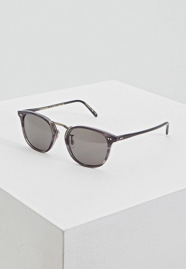 Очки солнцезащитные Oliver Peoples Oliver Peoples OL003DUEMZD7 oliver peoples 5189 1005n5 black bernardo wayfarer sunglasses polarised