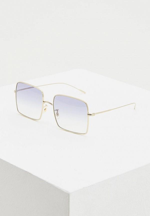 женские солнцезащитные очки oliver peoples, золотые