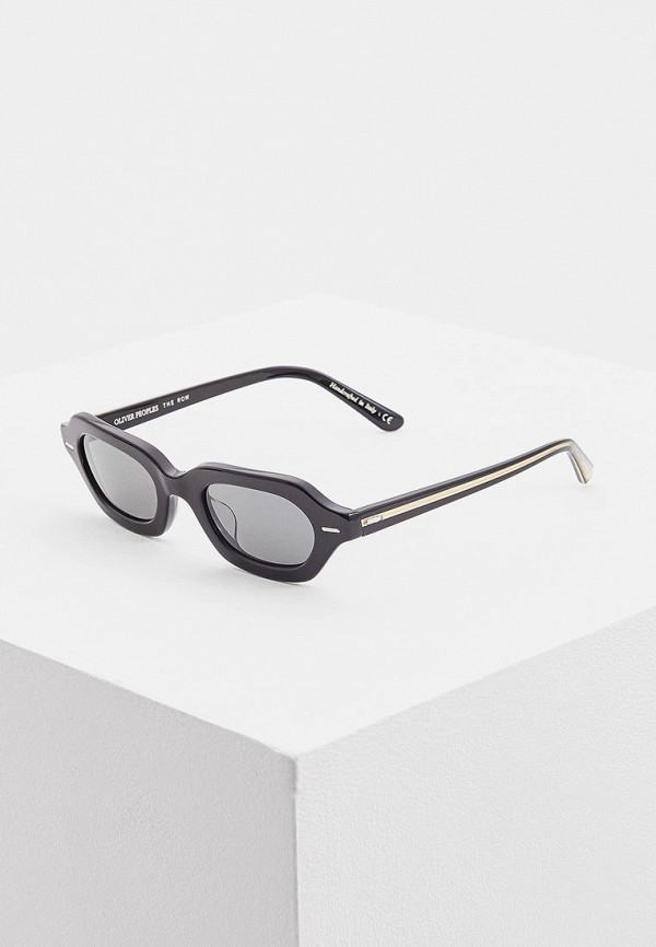 Очки солнцезащитные Oliver Peoples Oliver Peoples OL003DWDBKL0 oliver peoples 5189 1005n5 black bernardo wayfarer sunglasses polarised