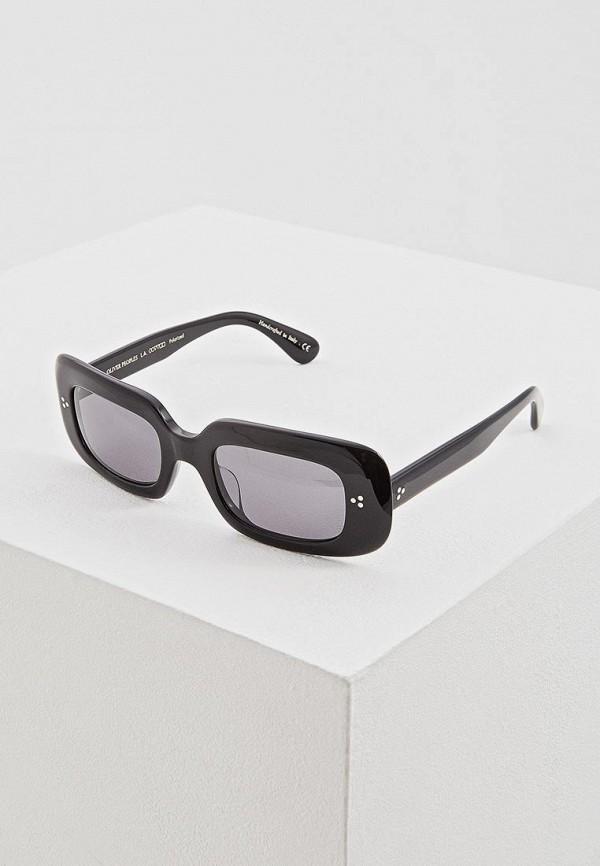 женские солнцезащитные очки oliver peoples, черные