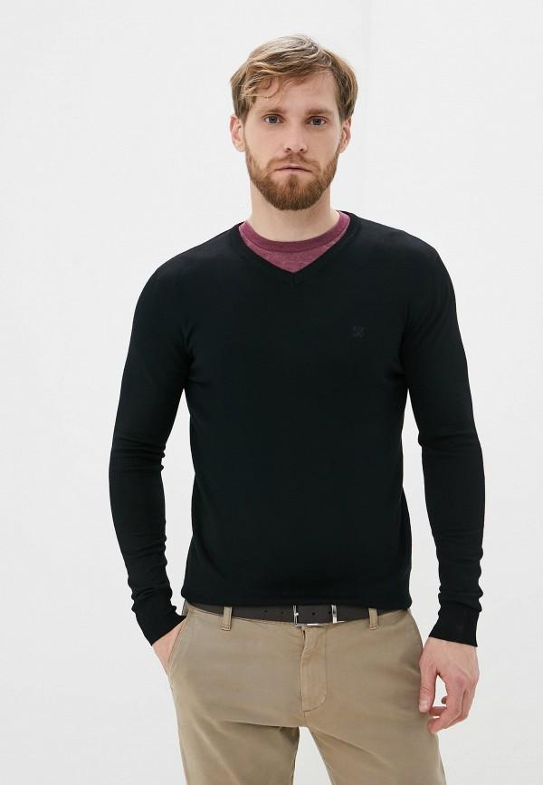 мужской пуловер old seams, черный