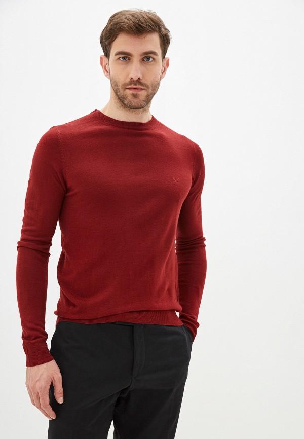 мужской джемпер old seams, красный