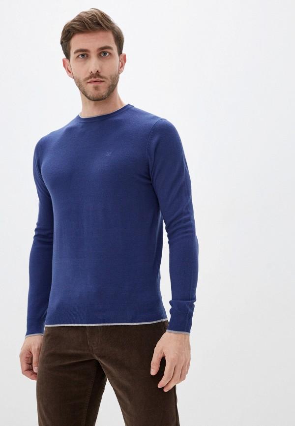 мужской джемпер old seams, синий