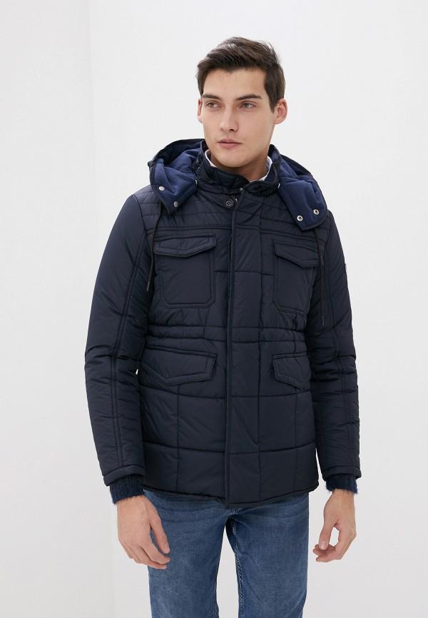 мужская утепленные куртка old seams, синяя