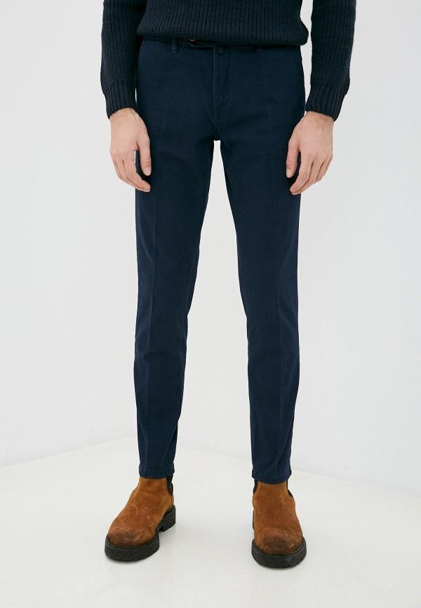 мужские брюки old seams, синие