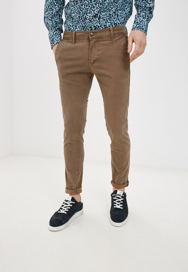 мужские брюки чинос old seams, бежевые