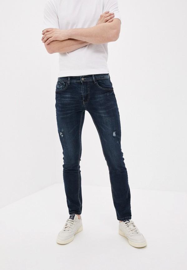 мужские джинсы old seams, синие