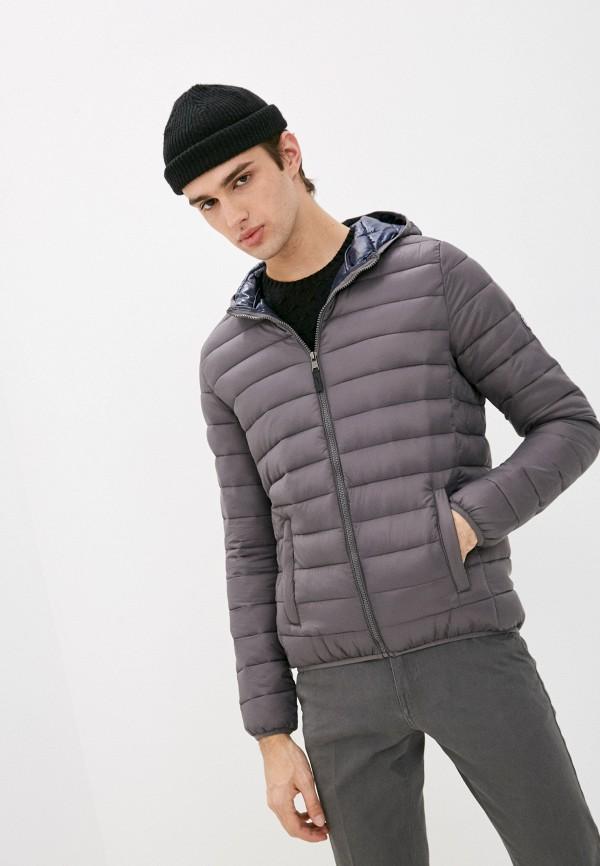 мужская куртка old seams, серая