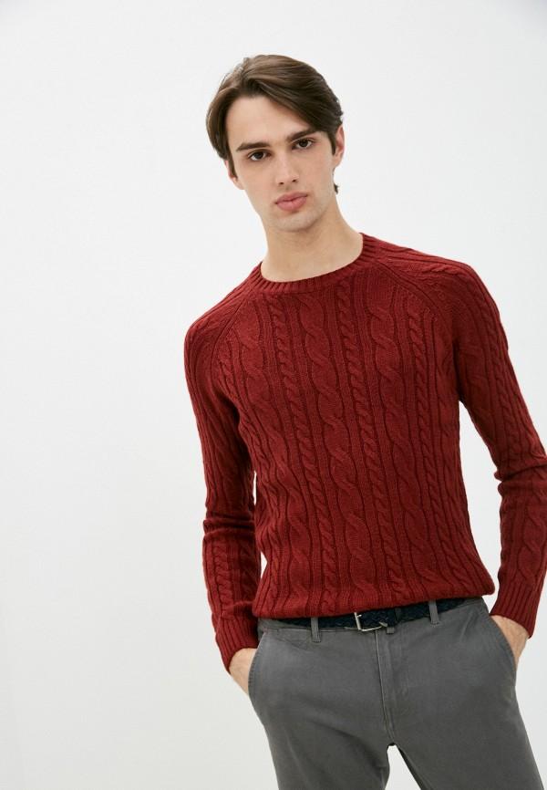 мужской джемпер old seams, бордовый