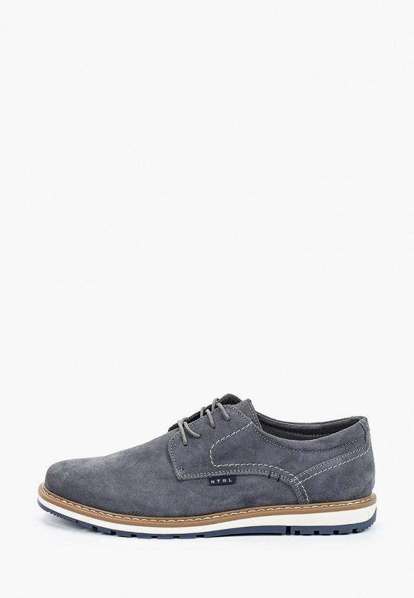 мужские туфли o-live naturalle, серые