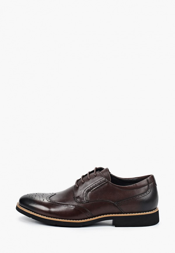 мужские туфли o-live naturalle, коричневые