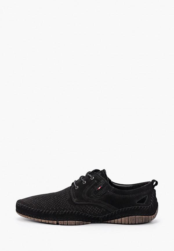 мужские туфли o-live naturalle, черные