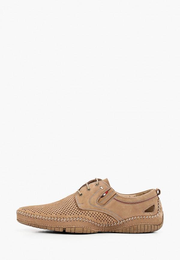 мужские ботинки o-live naturalle, бежевые