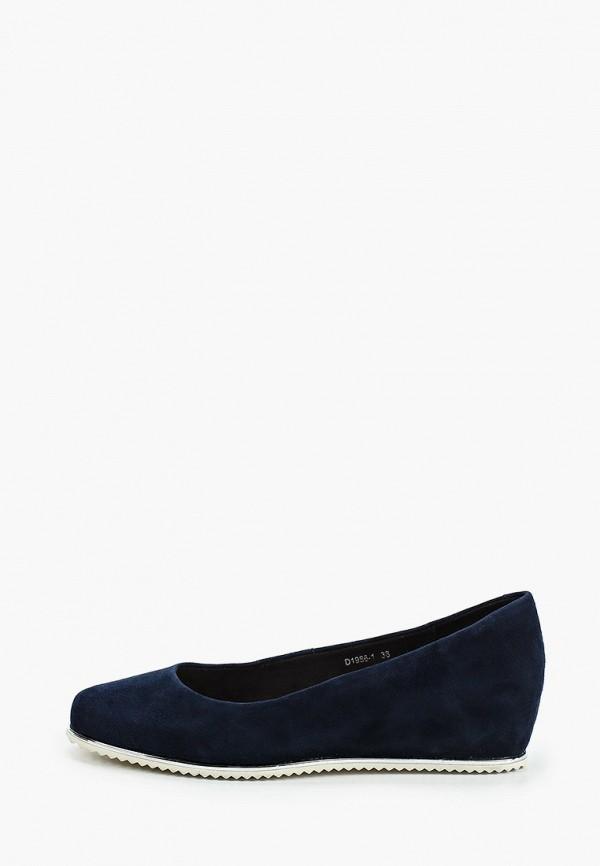 женские туфли o-live naturalle, синие