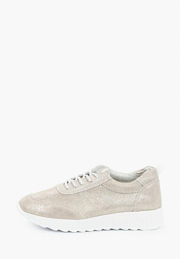 женские кроссовки o-live naturalle, серебряные