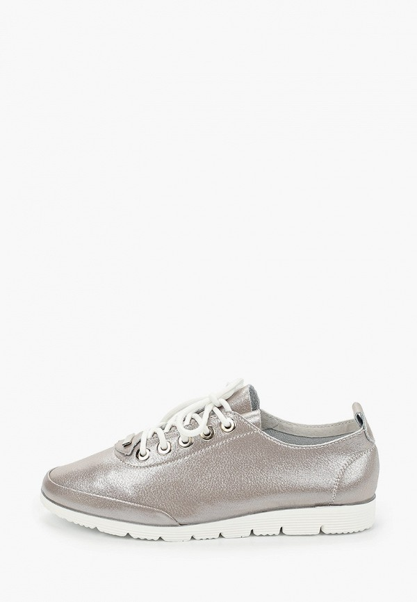 женские ботинки o-live naturalle, серебряные