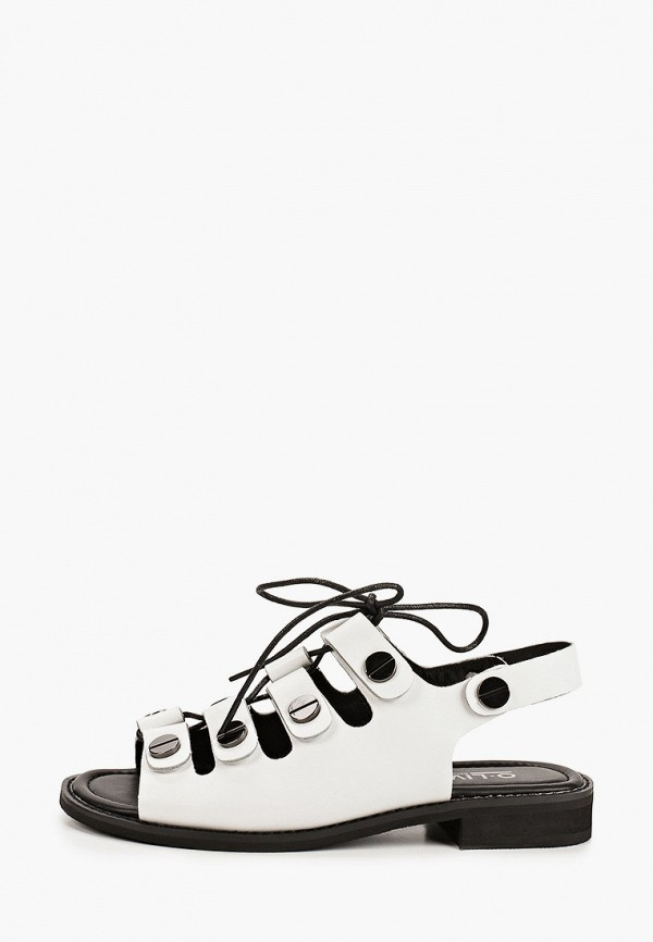 женские сандалии o-live naturalle, белые