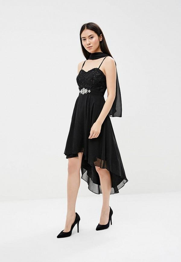 женское вечерние платье omonsim, черное