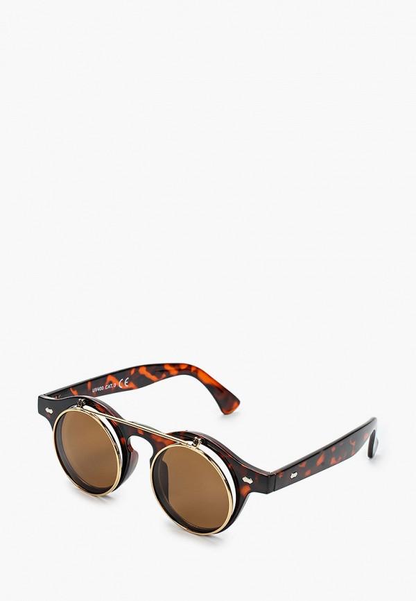 мужские солнцезащитные очки only & sons, коричневые
