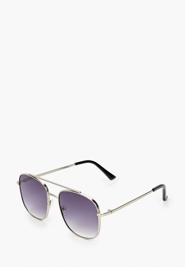 мужские авиаторы солнцезащитные очки only & sons, серебряные