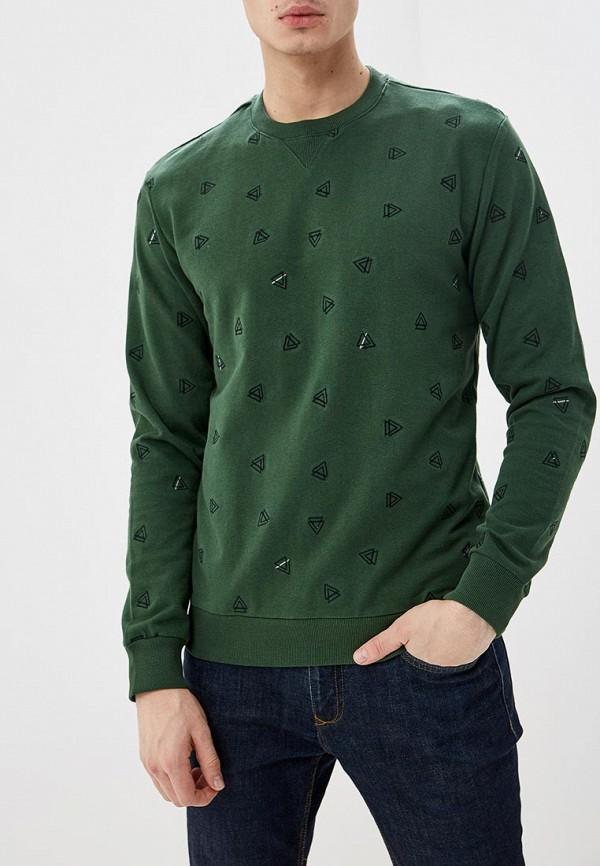 мужской свитшот only & sons, зеленый