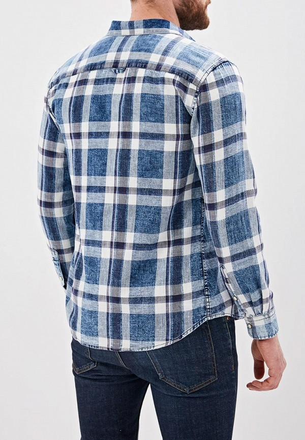 Фото 3 - Рубашку Only & Sons синего цвета