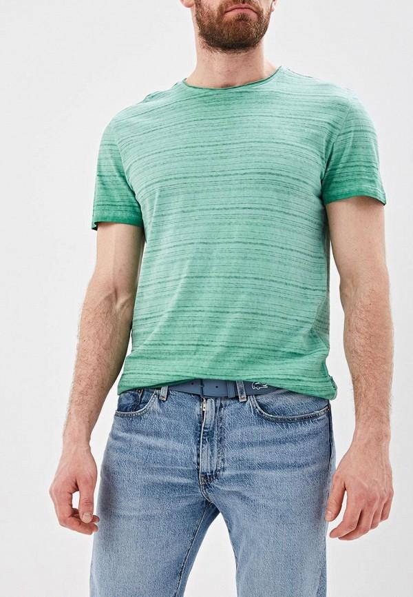мужская футболка с коротким рукавом only & sons, зеленая