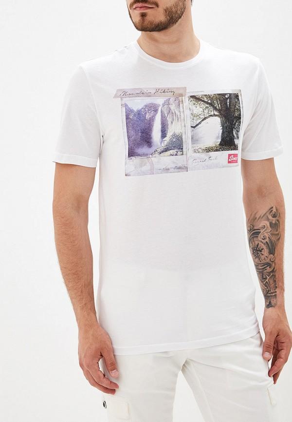 мужская футболка с коротким рукавом only & sons, белая