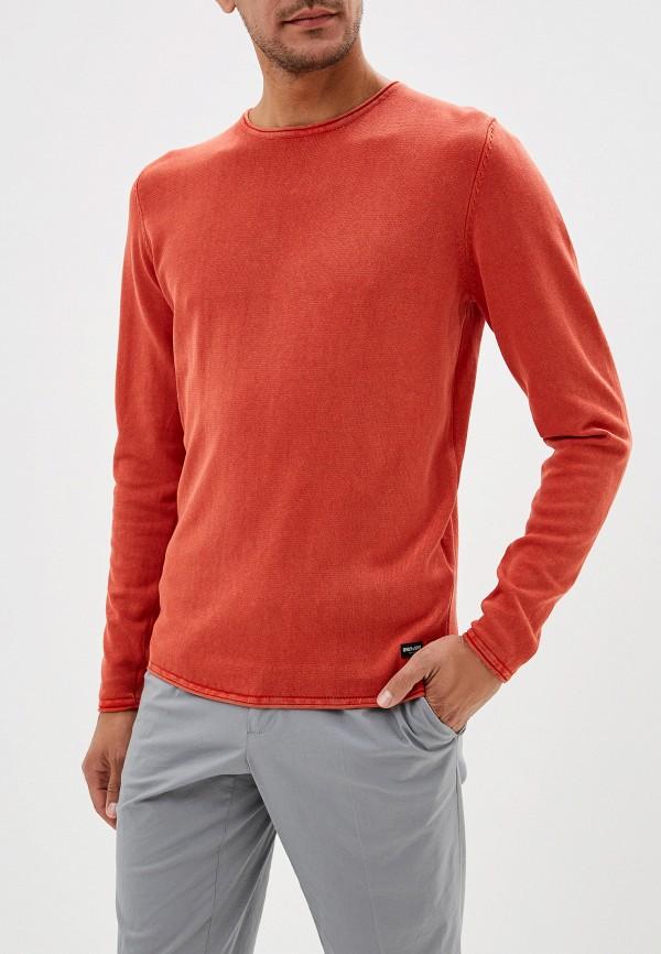 мужской джемпер only & sons, оранжевый