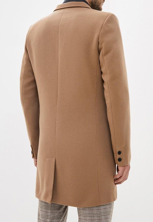Фото 3 - Пальто Only & Sons коричневого цвета