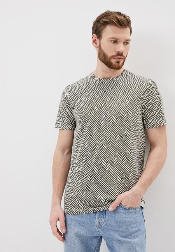 мужская футболка с коротким рукавом only & sons, хаки