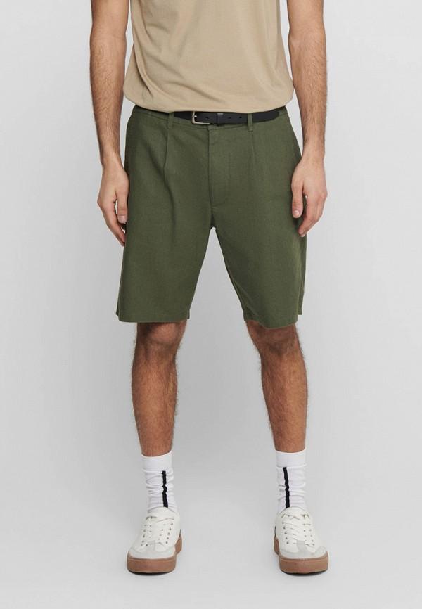 мужские повседневные шорты only & sons, хаки