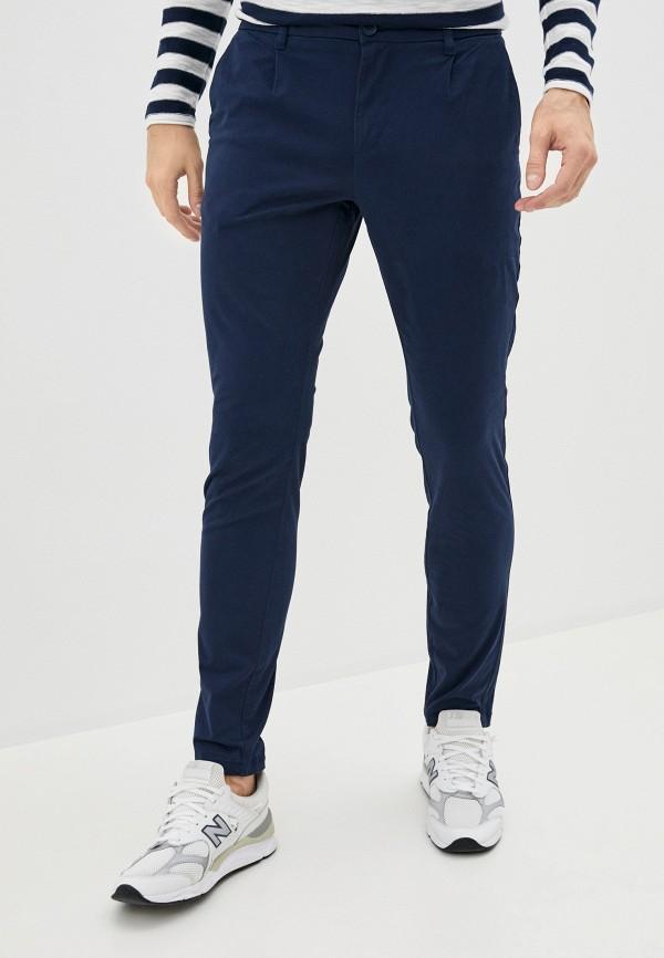 мужские брюки чинос only & sons, синие