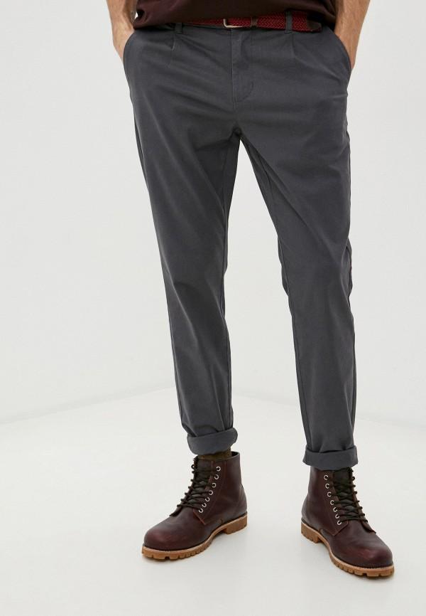 мужские прямые джинсы only & sons, черные