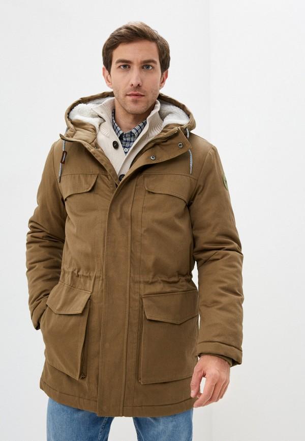 мужская куртка only & sons, хаки