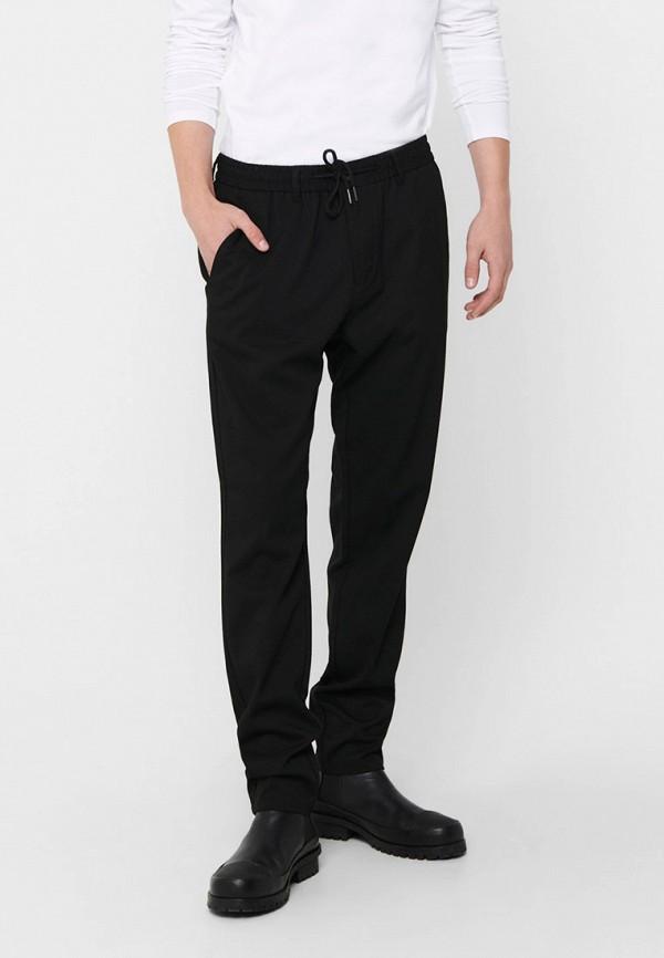 мужские брюки only & sons, черные