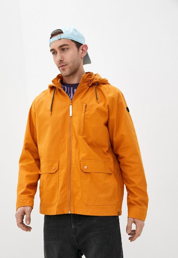 мужская куртка only & sons, оранжевая